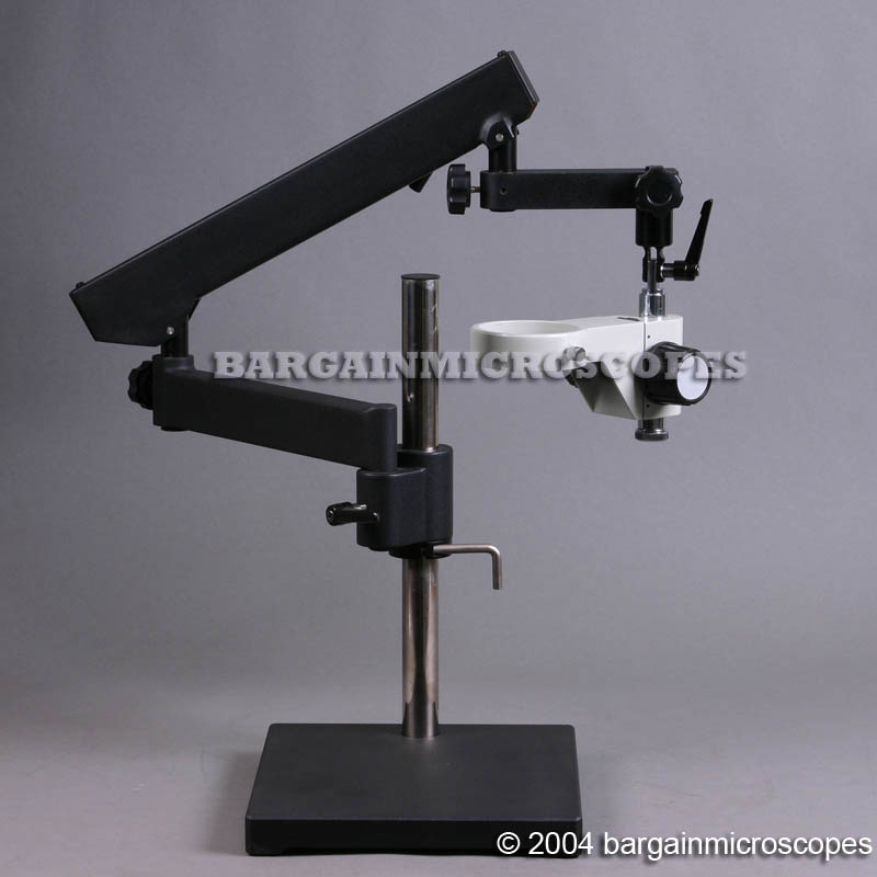ARTICULATING ARM STAND + HOLDER FOR FOCUSING HEAD BOOM MICROSCOPE STAND