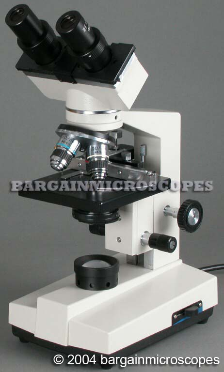 40X - 1600X BINOCULAR COMPOUND HIGH POWER MICROSCOPE WITH USB COMPUTER CONNECTED CAMERA SYSTEM + MICROSCOPE SLIDE SET