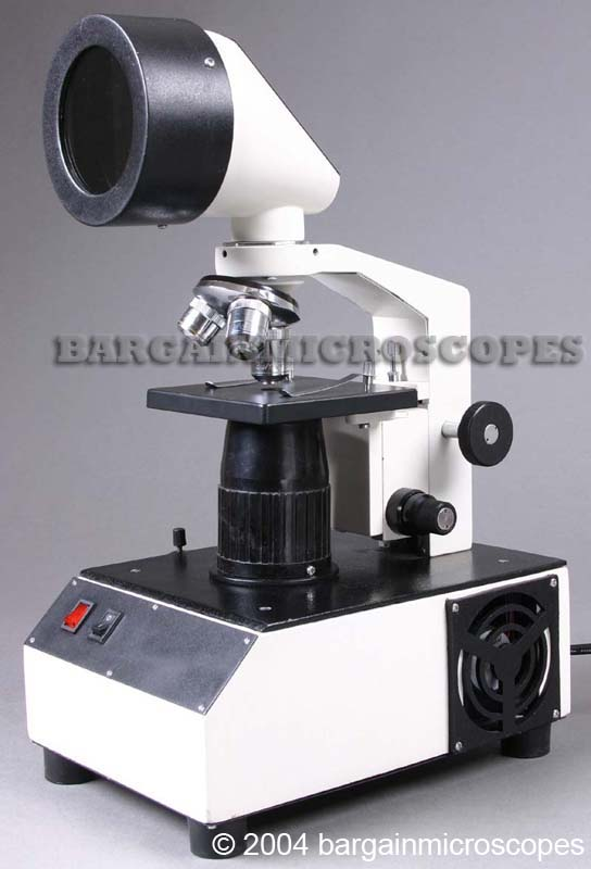 50x - 200x WALL PROJECTION BIOLOGICAL TEACHING MICROSCOPE