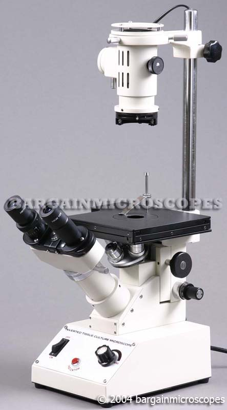 40 -400X CELLULAR BIOLOGY TISSUE CELL CULTURE INVERTED MICROSCOPE
