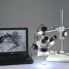 Need digital capture?  Microscope includes a USB version jpg capture camera. Camera shipped may look different than shown.