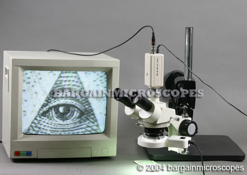 10X - 30X MAGNIFICATION STEREOSCOPIC TRINOCULAR DUAL ARM BOOM STAND BOOM MICROSCOPE VIDEO AND USB CAMERA